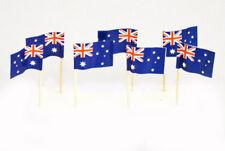 50 Australian Flag Food Picks - Australia Day Cocktail Picks Tooth Picks 6.5 CM
