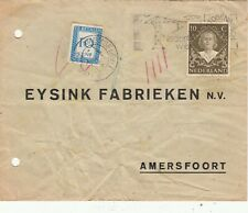 NETHERLAND POSTAGE DUE COVER. Rfno.10.