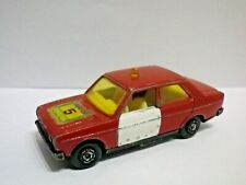 Guisval 27 SEAT 131 JEFE DE BOMBEROS 1981 Made in Spain Very rare Fire Chief Car