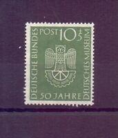 Bund 1952 - Dt. Museum - MiNr. 163 postfrisch** geprüft - Michel 30,00 € (829)