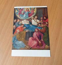 VINTAGE BELGIAN POSTCARD-HUGO VAN DER GOES(1440-1482)-LA MORT DE LA VIERGE