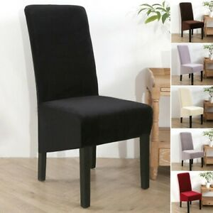 Kitchen Chair Cover Elastic Hotel Household Decoration Display Replacement