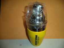 ABSOLUT CITRON 6.8 OZ STAINLESS STEEL 3 PIECE COCKTAIL SHAKER.