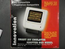 Use any PS2 Dual Shock Controller Pad on PC USB Innovation Smart Joy Emulator