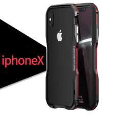 LUPHIE Aluminum Metal Frame Bumper Case Shockproof Armor For iPhone X/8/7 Plus