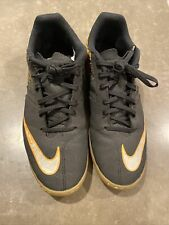 Nike Mens Black Running Tennis Shoes Non Marking Size 9