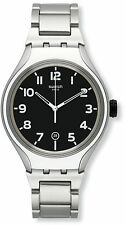 Swatch YES4011AG Irony Xlite Black Dial Aluminum Men's Watch