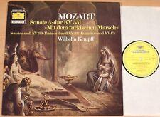 MOZART - Sonate A-Dur / Wilhelm Kempff  (RESONANCE 1976 / LP NEUWERTIG)