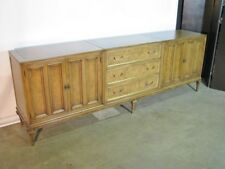 Stunning 1960's Bleached Walnut Mid Century Sideboard / Console By Mastercraft