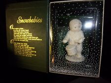 Christmas Snowbabies Dept, 56 Drummerboy In Box