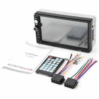 2 din Autoradio stereo de voiture 7010B Lecteur multimedia 7 pouces HD MP5 J1D3