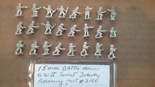 15mm Battle Honors WWII Soviet Infantry advancing