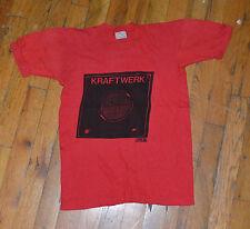 RaRe *1975 KRAFTWERK* vintage electronic concert tour shirt (S) 1970s Kraut-Rock