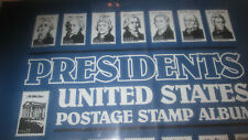 Presidents US Postage Stamp album, 1847 to 2000