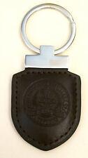 The BALVENIE Single Malt Scotch Whisky brown leather metal keychain key chain