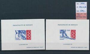 LN75911 Monaco 1994 sports olympics sheets MNH cv 230 EUR