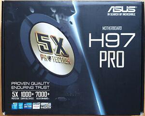 ASUS H97 Pro Mainboard, LGA1150 socketf. 4th, 5th Intel Core CPUs, max. 32GB DDR