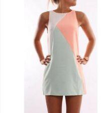 Women Leopard Print Buttons Mini Dress Ladies Summer Loose Short Sleeve Dresses