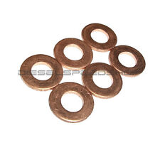 Fits 1998-2002 Dodge Cummins® 24v Copper Sealing Washers Injector washers