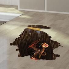 3D Dragon Window Removable Kids Art Wall Stickers