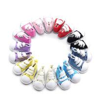 5 cm Puppe Schuhe Denim Leinwand Spielzeug Shoe1 / 6 Für Puppe Sneack_pr