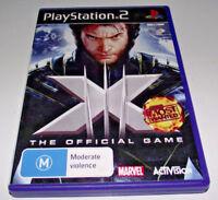 X-Men The Official Game PS2 PAL *No Manual*