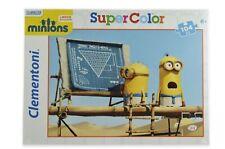 Clementoni Minions Puzzle - 104 Teile (Motiv 1 - Taktik aufstellen)