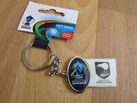 RUGBY League World Cup ENGLAND & WALES 2013 New ZEALAND Metal Keyring