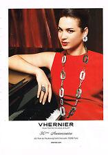 PUBLICITE ADVERTISING 114  2014   VHERNIER  joaillier  30° ANNIVERSAIRE