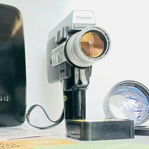 Canon 518 Auto Zoom super 8 camera / Film Tested / Fully Working / near mint