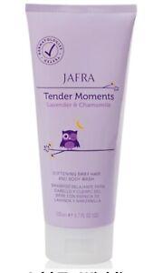 Jafra Tender Moments Lavender & Chamomile Softening Baby Hair & Body Wash New