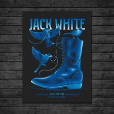 Jack White San Francisco Concert Poster Bill Graham 8/16/2018 In Hand