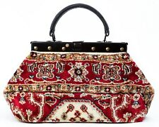 SMALL VICTORIAN-STYLE MARY POPPINS CARPET BAG. NEW