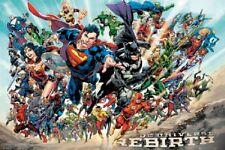 DC COMICS JUSTICE LEAGUE REBIRTH POSTER (SIZE: 24X36)