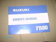 Suzuki fr50 owners manual.