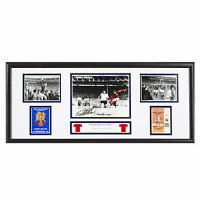 Framed Sir Geoff Hurst England 1966 World Cup Winners Photographic Storyboards