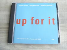 KEITH JARRETT CD contemporary jazz ECM Up For It *1ST PRESS * charlie parker mjq