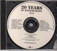 (BK369) 20 Years of Nuclear Blast CD 2 - DJ CD