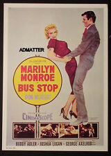 MARILYN MONROE VINTAGE MOVIE POSTER FROM 1956 FILM BUS STOP DON MURRAY!