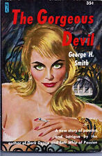 Georgeous Devil-Geo Smith 1959Slease/Sexy NsL Paperback Book #ASN 503 (B-6432)