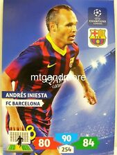 Adrenalyn XL Champions League 13/14 - Andres iniesta - FC Barcelona
