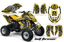 CAN-AM DS650 BOMBARDIER GRAPHICS KIT DS650X CREATORX DECALS STICKERS BTYY
