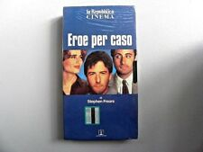 """VHS VIDEOCASSETTA """" EROE PER CASO """" UN FILM DI STEPHEN FREARS USA 1992"""