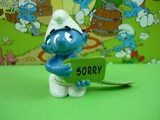 20749 désolé Smurf Smurfs Schlümpfe © 2012 Peyo MADE IN GERMANY CE Schleich (S)