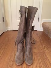 New Without Box Women's Suede Like Tall Boots By Coconuts Size 7.5