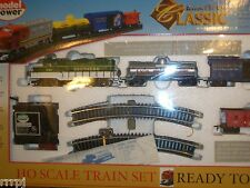 HO TRAINS CLASSIC TRAIN SET SOUTHERN  WITH TRACK & POWER PACK  #1028 S