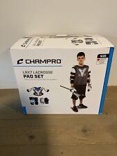 Champro Lrx7 Lacrosse Box Set Grey Medium Lstm