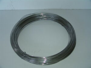 Edelstahl V2A  Bindedraht  Spanndraht  50 oder 250 Meter  0,7mm - 3,0mm Stärke