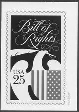 #2421 25c Bill of Rights Stamp Publicity Photo Essay