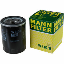 Original MANN-FILTER Ölfilter Oelfilter W 610/6 Oil Filter